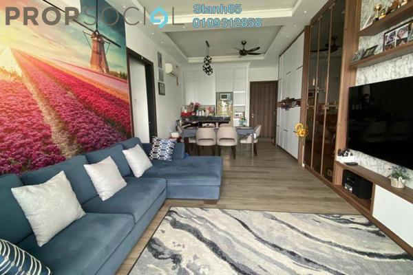 Condominium For Sale in Sphere Damansara, Damansara Damai Freehold Semi Furnished 3R/2B 600k
