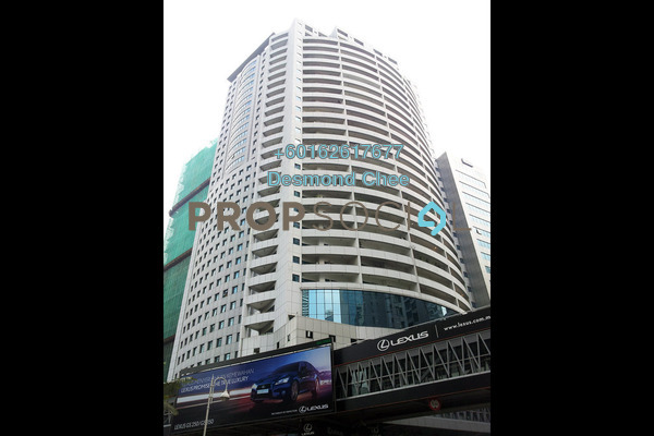 For Sale Office at Wisma UOA I, KLCC Freehold Fully Furnished 0R/0B 2.05m