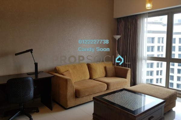 Serviced Residence For Sale in myHabitat, KLCC Freehold Fully Furnished 1R/1B 588k