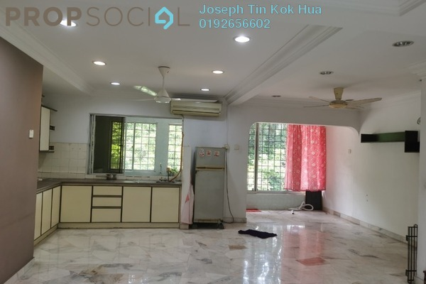 Townhouse For Rent in Taman OUG, Old Klang Road Freehold Semi Furnished 3R/2B 1.6k