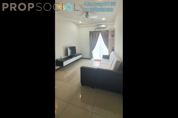 Serviced Residence For Rent in D'Carlton Seaview Residences, Masai Freehold Fully Furnished 2R/3B 1.4k