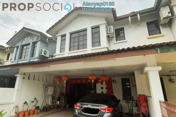 Terrace For Sale in Taman Permas Jaya, Bandar Baru Permas Jaya Freehold semi_furnished 4R/3B 580k