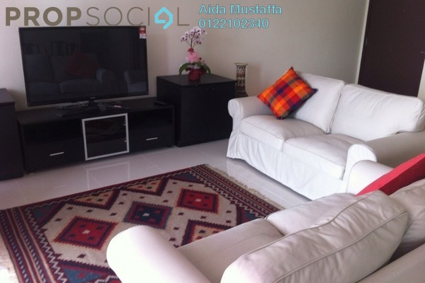 For Rent Condominium at The Plaza Condominium, TTDI Freehold Fully Furnished 3R/4B 4.2k