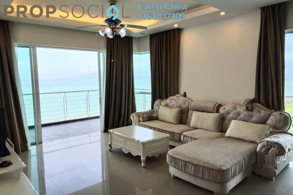 Condominium For Rent in Bayu Ferringhi, Batu Ferringhi Freehold Fully Furnished 4R/3B 3.3k