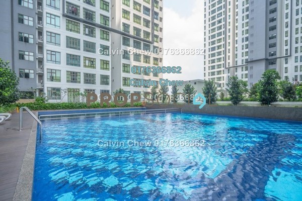 Serviced Residence For Sale in D'Summit Residences, Skudai Freehold Unfurnished 2R/2B 240k