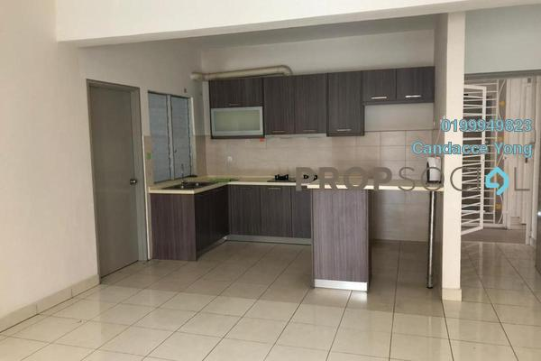 Apartment For Rent in Pelangi Heights, Klang Freehold semi_furnished 3R/2B 1.2k
