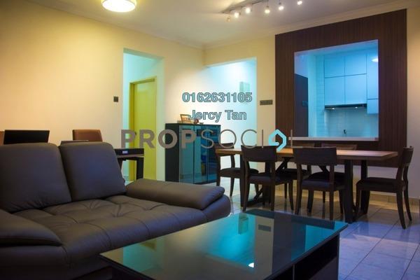 Condominium For Sale in Abadi Villa, Taman Desa Freehold Semi Furnished 3R/2B 550k