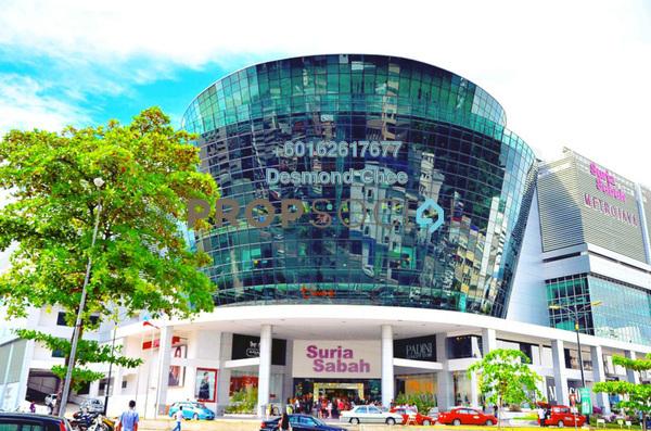 Office For Rent in Suria Sabah, Kota Kinabalu Freehold Fully Furnished 0R/0B 2.3k