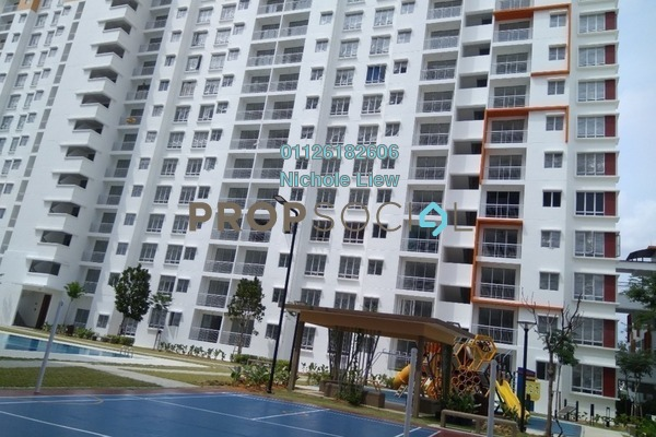 For Rent Condominium at Setia EcoHill, Semenyih Freehold Semi Furnished 3R/2B 700translationmissing:en.pricing.unit