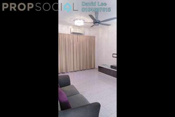 Apartment For Rent in Taman Sri Bunga, Jelutong Freehold Semi Furnished 3R/1B 1.1k