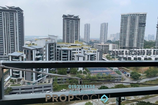 Apartment For Sale in The Domain, Cyberjaya Freehold Semi Furnished 2R/2B 290k