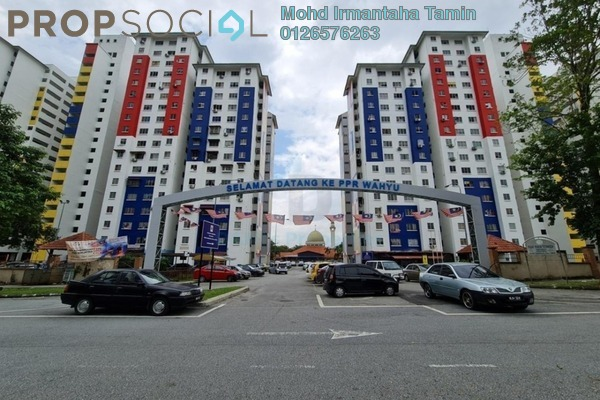 Apartment For Rent in PPR Taman Wahyu, Jalan Ipoh Freehold fully_furnished 3R/2B 950translationmissing:en.pricing.unit