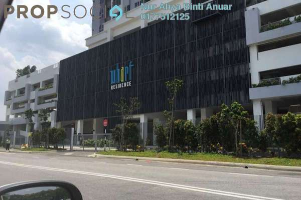 For Sale Serviced Residence at The Wharf, Puchong Freehold Unfurnished 2R/2B 315k