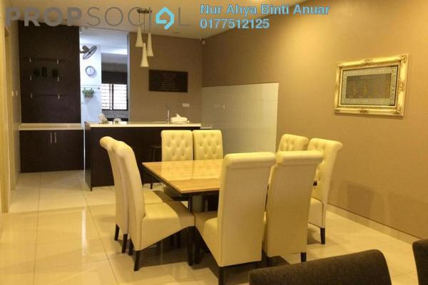 Terrace For Rent in Pentas, Alam Impian Freehold Semi Furnished 5R/5B 2.3k