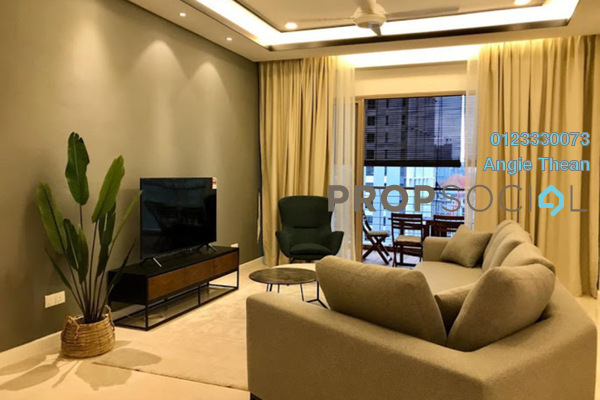 For Rent Condominium at Hampshire Park, KLCC Freehold Fully Furnished 4R/5B 12k
