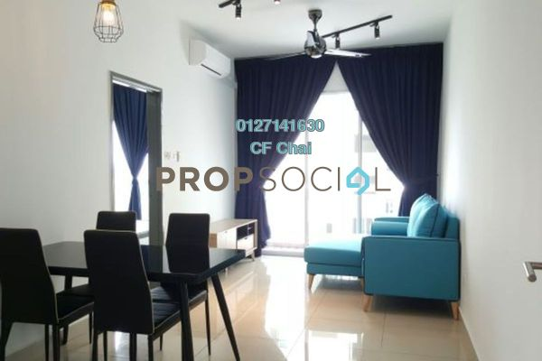 Condominium For Rent in The Aliff Residences, Johor Bahru Freehold fully_furnished 1R/1B 1.1k
