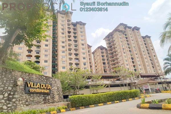 For Sale Condominium at Villa Duta, Bukit Antarabangsa Freehold Semi Furnished 3R/2B 270k