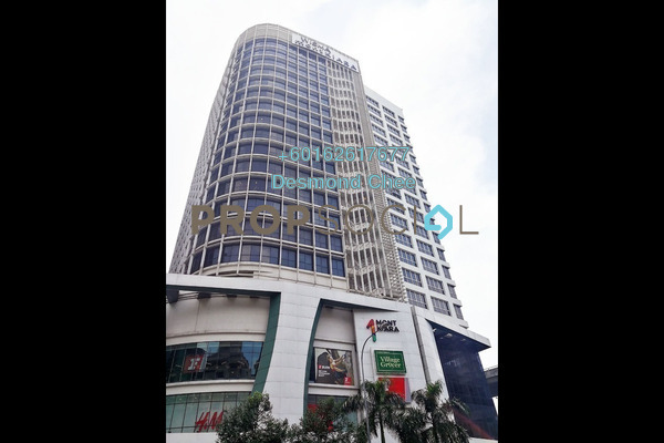 For Rent Office at Wisma Mont Kiara, Mont Kiara Freehold Fully Furnished 0R/0B 3.2k