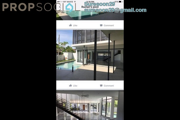 Bungalow For Sale in Section 5, Petaling Jaya Freehold unfurnished 4R/3B 4.75m
