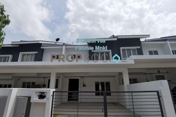 Terrace For Sale in Iringan Bayu, Seremban Freehold Unfurnished 4R/4B 410k