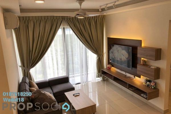 Apartment For Rent in Citrine, Sunway Iskandar Freehold Fully Furnished 2R/2B 2k