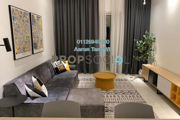 Condominium For Rent in EcoSky Residence, Kuala Lumpur Freehold Fully Furnished 3R/2B 2.6k