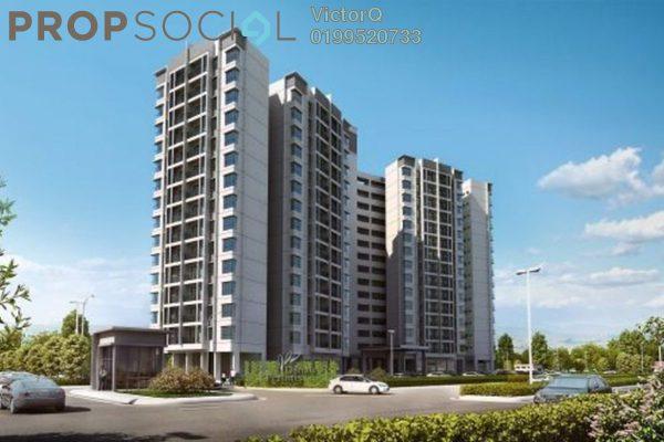 Condominium For Sale in Danau Perintis, Puncak Alam Freehold unfurnished 3R/2B 260k