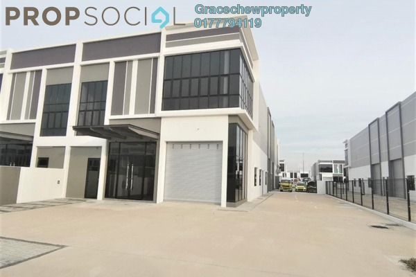 Factory For Rent in Eco Business Park II, Senai Freehold Unfurnished 0R/0B 4.8k