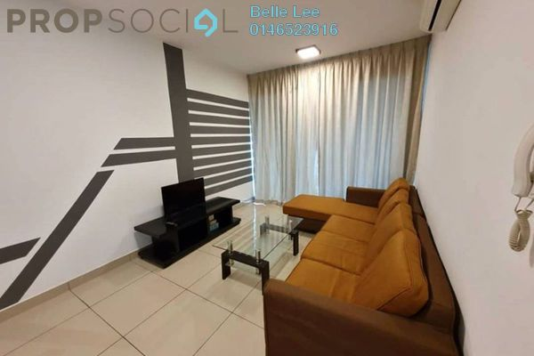 Condominium For Rent in Kiara Residence 2, Bukit Jalil Freehold Semi Furnished 3R/2B 1.5k