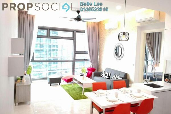 For Rent Condominium at Vogue Suites One @ KL Eco City, Mid Valley City Freehold Fully Furnished 1R/1B 2.7k