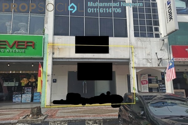 Shop For Rent in Section 9, Shah Alam Freehold Semi Furnished 0R/0B 9k