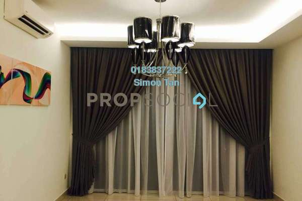 For Sale Condominium at Rimba Residence, Bandar Kinrara Freehold Semi Furnished 3R/2B 698k