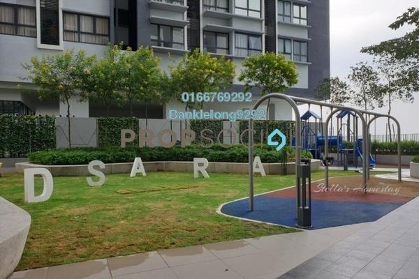 Condominium For Sale in D'Sara Sentral, Sungai Buloh Freehold Semi Furnished 3R/2B 590k