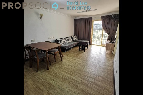 Apartment For Rent in Taman Kristal, Tanjung Tokong Freehold Semi Furnished 3R/2B 1.1k