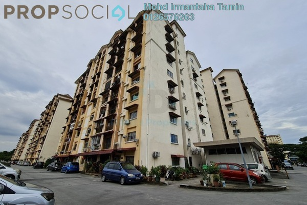 Apartment For Rent in Vista Lavender, Bandar Kinrara Freehold unfurnished 3R/2B 1k