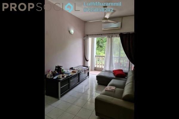For Rent Apartment at Sri Kesidang, Bandar Puchong Jaya Freehold Semi Furnished 3R/2B 1.2k