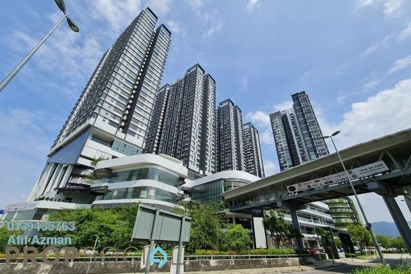 Condominium For Rent in D'Sara Sentral, Sungai Buloh Freehold Semi Furnished 1R/1B 1.6k