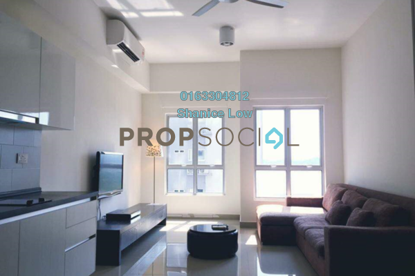 Condominium For Rent in The Wharf, Puchong Freehold Fully Furnished 1R/1B 1.2k