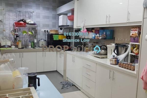Terrace For Sale in BP14, Bandar Bukit Puchong Freehold Semi Furnished 4R/3B 620k