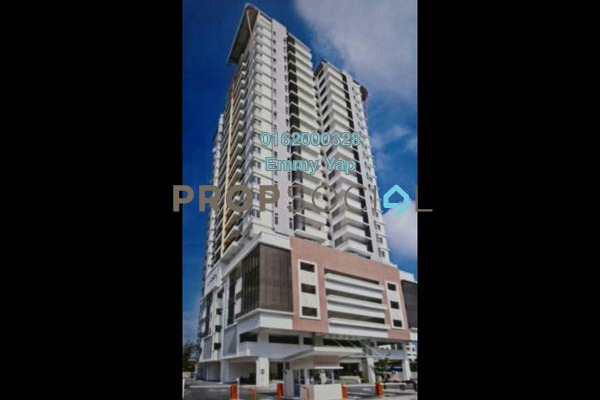 For Rent Condominium at Vistaria Residensi, Cheras Freehold Semi Furnished 3R/2B 2.1k