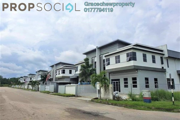 Factory For Sale in Taman Perindustrian Cemerlang, Ulu Tiram Freehold Unfurnished 0R/0B 2.5m
