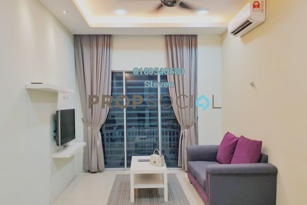 For Rent Condominium at Sky Garden Residences, Chemor Freehold Fully Furnished 2R/2B 1k