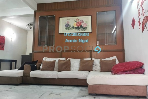 For Rent Terrace at Jalan Merak, Bandar Puchong Jaya Freehold Fully Furnished 4R/3B 1.8k