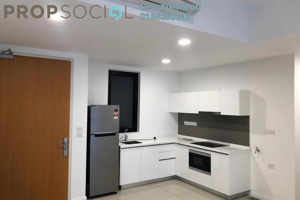 For Rent Condominium at Novum, Bangsar South Freehold Semi Furnished 2R/2B 2k