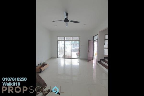 Terrace For Rent in Taman Mutiara Rini, Skudai Freehold Semi Furnished 4R/4B 1.5k
