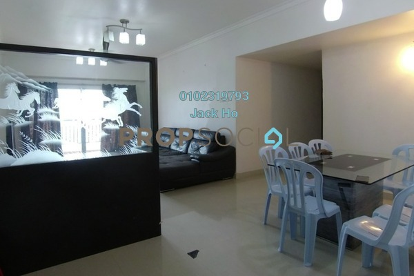 Condominium For Sale in Continental Heights, Kuchai Lama Freehold Semi Furnished 4R/3B 530k
