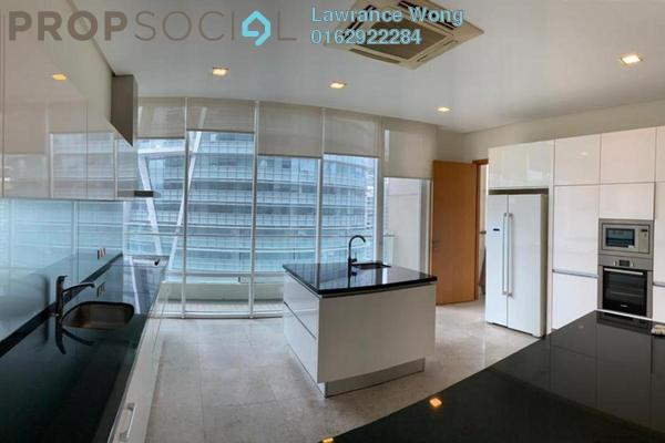 Apartment For Rent in The Oval, KLCC Freehold Semi Furnished 3R/3B 9.5k