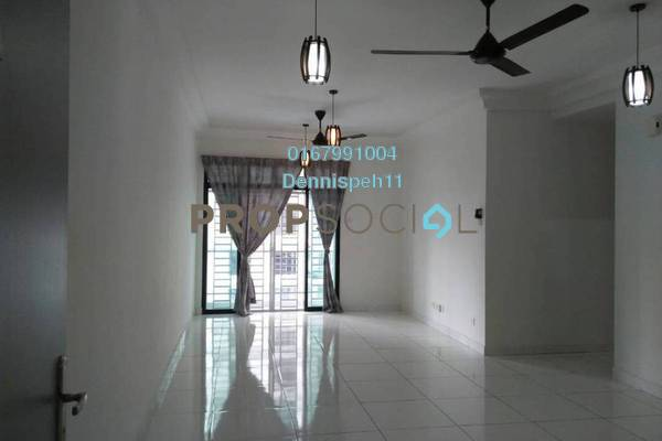 Condominium For Rent in The Platino, Skudai Freehold Semi Furnished 3R/2B 1.8k