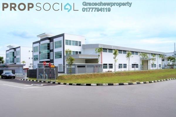 Factory For Sale in Taman Perindustrian Gemilang, Ulu Tiram Freehold Unfurnished 0R/0B 10m