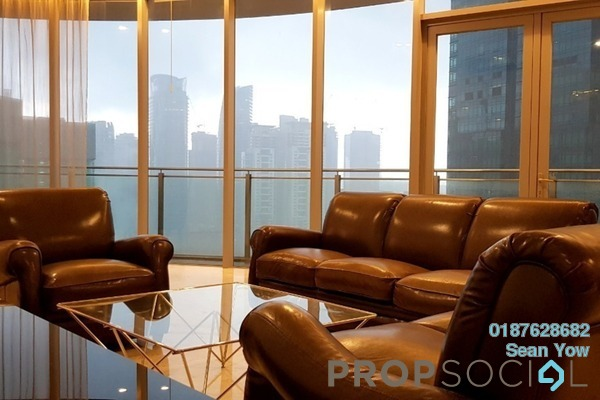 For Rent Condominium at K Residence, KLCC Freehold Fully Furnished 3R/3B 12k